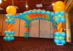 Image result for disco balloons decoration
