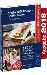 Gutscheinbuch Böblingen, Calw & Umgebung