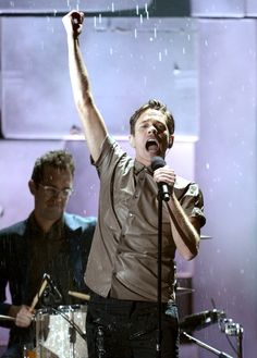 Nate performing Carry On at the Grammys