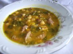 Sopa de Gr�o de Bico - Veja mais em: http://www.cybercook.com.br/receita-de-sopa-de-grao-de-bico.html?codigo=41545