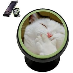 Titter Cat Snicker Kitten Vehicle Phone Mount Magnetic Phone Car Bracket Holder Noctilucent Mobile Rotating Universal Cell Phone iPhone Kit Gadget * Check this awesome product by going to the link at the image. (This is an affiliate link) Kitten, Cat, Phone Mount, Car Accessories, Magnets, Vehicle, Iphone, Image Link, Awesome