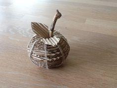 Æble i bølgepap