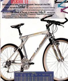 1994 GT Tech Shop catalogue GT Zaskar