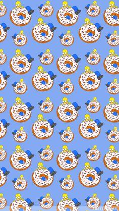 2371ff Homer Donut 640x1136