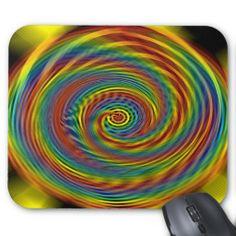 Cosmic Swirl Mousepad