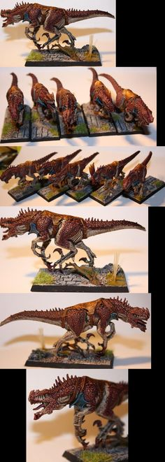 Lizardmen cold ones