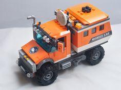 Lego City Fire Truck, Lego Truck, Lego Unimog, Lego Wheels, Lego Machines, Lego Kits, Lego Army, Lego Christmas, Lego Jurassic World