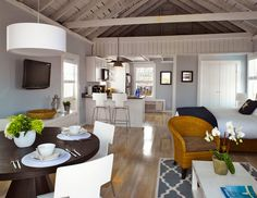 BPC Architecture | Portfolio | Love the modern meets Nantucket for this loft