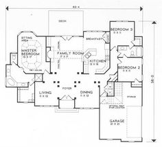 plan floor plans ranch theplancollection main 1002 story practical magic sq ft