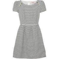 I love Stripes.  Fifties-ish to create a waist and shape.