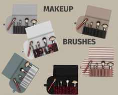 Makeup Brushes at Leo Sims • Sims 4 Updates