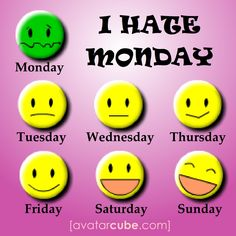 i hate mondays quotes - Google Search