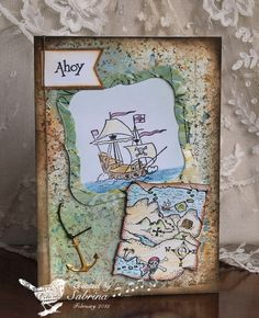 VSNMAR15E Treasure Ahoy by Cook22 - Cards and Paper Crafts at Splitcoaststampers