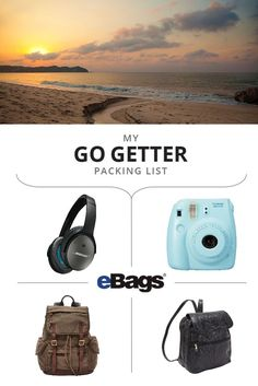 Check out my surf Las Olas packing list. Enter to win a luxury surf & yoga retreat at ebags.pcsso.com/contest/