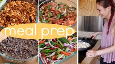 Meal Prep With Me // DIY Chipotle (cheap. easy. vegan.) - YouTube