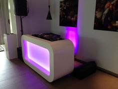 diy dj m bel aus ikea s besta serie dj and dj table. Black Bedroom Furniture Sets. Home Design Ideas