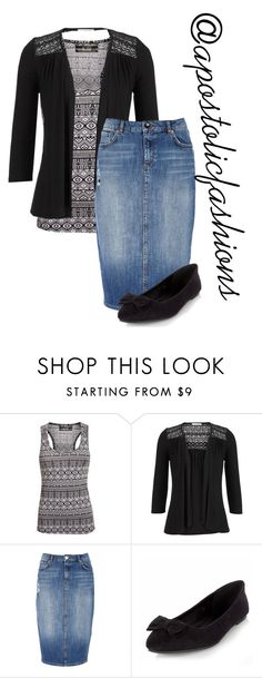 """Apostolic Fashions #1417"" by apostolicfashions on Polyvore featuring Pilot, maurices and River Island"
