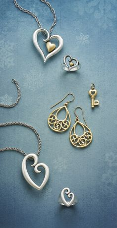 Silver & Gold from James Avery Jewelry #jamesavery