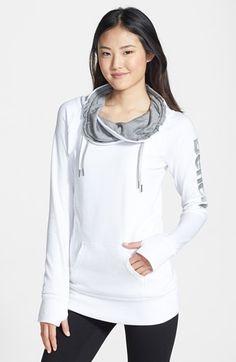 super cute cowl neck sweatshirt
