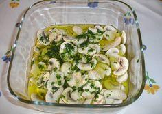 Pickled mushrooms Kiko recipe - Main picture of pickled mushrooms - Amazing Vegetarian Recipes, Vegetarian Pasta Recipes, Broccoli Recipes, Cooking Recipes, Healthy Recipes, Yummy Veggie, Small Pasta, Mushroom Recipes, Stuffed Mushrooms