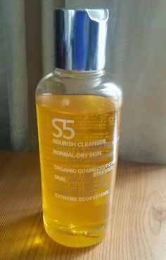 S5 Skincare Nourish Cleanser Cleanser And Toner, Cleansers, Dry Skin, Shampoo, Skincare, Stress, Personal Care, Bottle, Skin Care