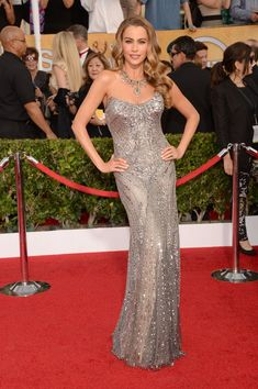 Sofia Vergara is definitely a confident woman. The Modern Family actress is not only successful but she also rules every red carpet. Check out some of her sexiest moments!