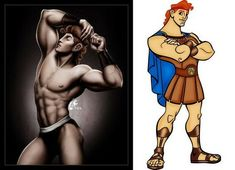 Ok. I'm sorry. I couldn't help myself. Holy cow! I'll never look at Disney heroes the same again.