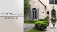 Dawn McKenna, @coldwellbanker, and HiRez Productions present 315 S. Washington in Hinsdale, IL.