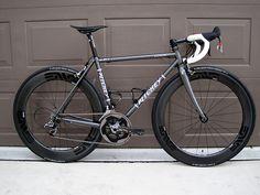 Bikes Not Bull: 2013 Ritchey Road Logic steel frame + carbon fiber wheels