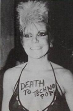 death to techno pop