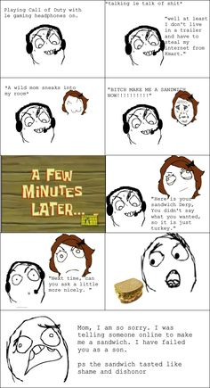 See more 'Rage Comics' images on Know Your Meme! Derp Comics, Rage Comics, Funny Comics, Jokes Pics, Meme Pictures, Really Funny Memes, Funny Relatable Memes, Funny Stuff, Cereal Guy