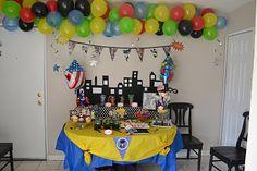 Adoption Creates Families: Party Detail Walk Through