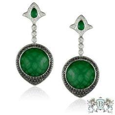 Doves Emerald Dreams Earrings E5954BGA