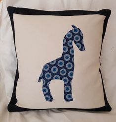 Your place to buy and sell all things handmade African Animals, African Safari, Cushion Inserts, Cushion Covers, Diy Home Crafts, Crafts To Make, Water Pillow, Giraffe Silhouette, Giraffe Toy