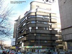 Duiliu Marcu, T. Or Blick C), Strada Ştirbei Vodă 17 Small Art, Bucharest, Modernism, Romania, Multi Story Building, Art Deco, Memories, Modern Architecture, Souvenirs