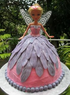 Fairy Birthday Cake-this will do for Eva-lorrin