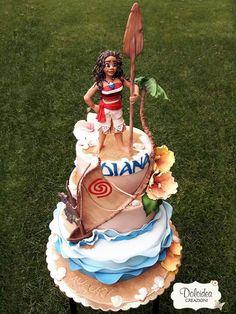 Pasteles de Moana para fiestas infantiles http://tutusparafiestas.com/pasteles-moana-fiestas-infantiles/