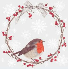 weihnachten illustration Friday Finds - Sally Swannell - Illustrator and Artist Christmas Bird, Vintage Christmas Cards, Christmas Pictures, Xmas Cards, Christmas Crafts, Christmas Decorations, Christmas 2014, Christmas Cookies, Watercolor Christmas Cards