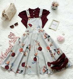 30 Trendy Summer Outfits Ideas for Teen Girls to Try Girls Fashion Clothes, Teen Fashion Outfits, Mode Outfits, Girl Outfits, Fashion Dresses, Summer Outfits, Dress Outfits, Cute Casual Outfits, Pretty Outfits