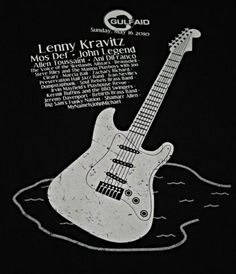 RARE Lenny Kravitz Gulf Aid Concert Crew M T Shirt John Legend mos Def s s Tee | eBay