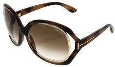TOM FORD SUNGLASSES JAQUELIN WOMENS GOLD HAVANA IVORY RIM FRAME |BROWN GRADIENT LENS TF100 160 by Tom Ford. $231.43. LENS COLOR:GRADIENT BROWN. FRAME COLOR: GOLD HAVANA IVORY TRIM. SIZE: LENS/BRIDGE/TEMPLE: 59-19-125. GENDER: WONENS. MADE IN: ITALY. THE TOM FORD EYEWEAR COLLECTION CONTAINS SOME PIECES THAT ARE VINTAGE INSPIRED; THEY ARE UTTERLY EXQUISITE AND BOAST SINUOUS CURVES AND DELICATE DETAIL. THE LUXURIOUS DESIGNS INCORPORATE A CONTEMPORARY, MODERN TWIST AND ...
