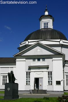 Santatelevision travel photo: Lapua Cathedral in Lapua in Finland – Finnish church in neoclassical style – Lapua large pipe organ Helsinki, Travel Images, Travel Photos, Santa Claus Village, Photo Voyage, Finland Travel, Lapland Finland, Europe, Arctic Circle