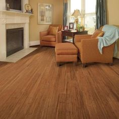 Home Decorators Collection Strand Woven Harvest 3/8 in. Thick x 4.92 in. Wide x 36-1/4 in. Length Solid Bamboo Flooring (24.76 sq. ft. / case)-HL271S - The Home Depot