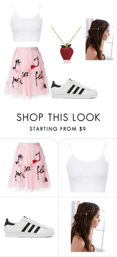 """:)"" by tomas-zsuzsa on Polyvore featuring P.A.R.O.S.H., Topshop, adidas, Regal Rose, Amanda Rose Collection, women's clothing, women, female, woman and misses"