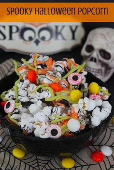 Spooky Halloween Popcorn The Perfect Addition To Your Party