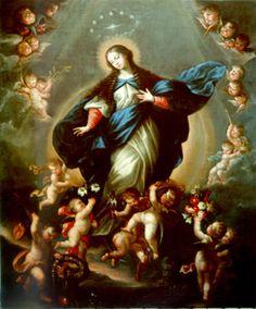 Inmaculada Concepción. Alonso del Arco. Último cuarto del siglo XVII. Convento de Sta. Mª Magdalena (Medina del Campo)