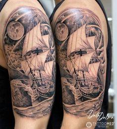 Ink Man Tattoo Studio Budapest #inkmantattoo #budapesttattoo #tattoo #tattoos #tetoválás #colortattoo #blacktattoo #armtattoo #boattattoo