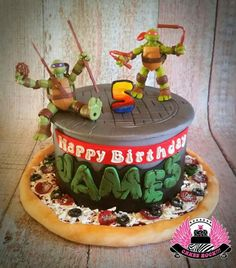 Cowabunga, Dude! Made by one of my besties - she does amazing work, occasionally…