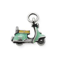 Enamel Vintage Scooter Charm #JamesAvery