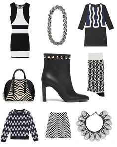 Shopping Safari Graphique par Juste Magazine collier et collerette Ithemba